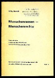 Brandt, Willy:  Menschenrassen - Menschenrechte. Ansprache des Bundeskanzlers Willy Brandt zur Woche der Brüderlichkeit 1971. Schriftenreihe der Köllnischen Gesellschaft für Christlich-Jüdische Zusammenarbeit 15.
