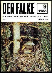Der Falke. Monatsschrift für Ornithologie und Vogelschutz. Jg. 35. 1988 (nur) Heft 9.