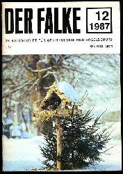 Der Falke. Monatsschrift für Ornithologie und Vogelschutz. Jg. 35. 1988 (nur) Heft 12.