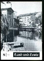 Land und Leute. Kreis Ludwigslust 1958 (nur) Heft 8.