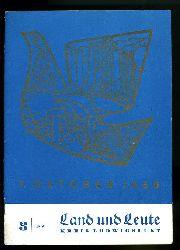 Land und Leute. Kreis Ludwigslust 1960 (nur) Heft 3.