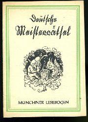 Deutsche Meisterrätsel. Münchner Lesebogen 76.