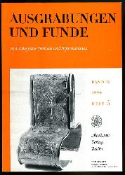 Ausgrabungen und Funde. Archäologische Berichte und Informationen. Bd. 35 (nur) Heft 5. (Thüringen-Heft)