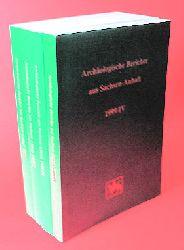 Fröhlich, Siegfried (Hrsg.):  Archäologische Berichte aus Sachsen-Anhalt. ABSA 1999 I-IV.