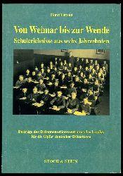Pätzold, Horst:  Von Weimar bis zur Wende. Schulerlebnisse aus sechs Jahrzehnten. Beiträge des Dokumentationszentrums des Landes für die Opfer Deutscher Diktaturen.
