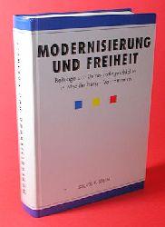 Heinrichs, Michael:  Modernisierung und Freiheit. Beiträge zur Demokratiegeschichte in Mecklenburg-Vorpommern.