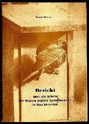 Peters, Horst:  Bericht über die Arbeit der Station Junger Naturforscher in Bad Doberan.