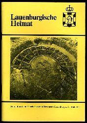 Lauenburgische Heimat. Zeitschrift des Heimatbund und Geschichtsvereins Herzogtum Lauenburg. Neue Folge. Heft 104.