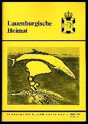 Lauenburgische Heimat. Zeitschrift des Heimatbund und Geschichtsvereins Herzogtum Lauenburg. Neue Folge. Heft 130.