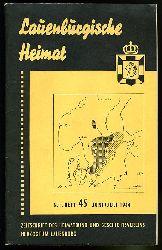 Lauenburgische Heimat. Zeitschrift des Heimatbund und Geschichtsvereins Herzogtum Lauenburg. Neue Folge. Heft 45.