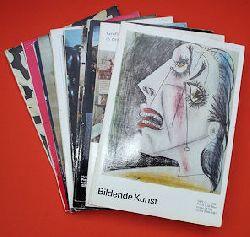 Bildende Kunst. Verband Bildender Künstler der Deutsche Demokratischen Republik. Jahrgang 1982 in 12 Heften.