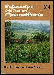 Eccarius, Wolfgang:  Die Orchideen des Kreises Eisenach. Eisenacher Schriften zur Heimatkunde H. 24