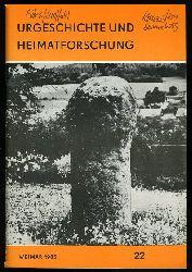 Urgeschichte und Heimatforschung. Heft 22.