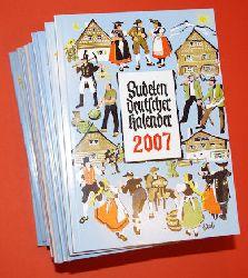 Sudetendeutscher Kalender 1965. Unser Heimatkalender. Volkskalender für Sudetendeutsche. 44. bis 59. Jahrgang. 1992.2007.