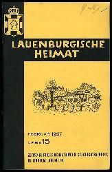 Lauenburgische Heimat. Zeitschrift des Heimatbund und Geschichtsvereins Herzogtum Lauenburg. Neue Folge. Heft 15.