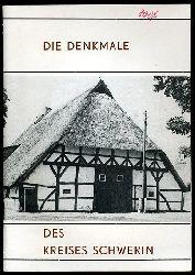 Ende, Horst:  Die Denkmale des Kreises Schwerin.
