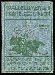 Klein, Ludwig:  Unsere Waldblumen und Farngewächse. Sammlung naturwissenschaftlicher Taschenbücher 5.