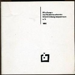 Mitteilungen Museumsverband in Mecklenburg-Vorpommern 4. 1995.