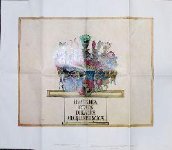 Wappen des Herzoglichen Hauses von Mecklenburg. Aus dem Mecklenburg-Atlas des Bertram Christian von Hoinckhusen (um 1700)