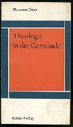 Diem, Hermann:  Theologie in der Gemeinde.