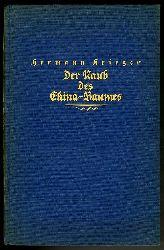 Krieger, Hermann:  Der Raub des China-Baumes. Abenteuerliche Tropenfahrten eines deutschen Naturforschers.