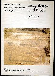 Ausgrabungen und Funde. Nachrichtenblatt der Landesarchäologie. Bd. 40 (nur) Heft 5. Mecklenburg-Vorpommern