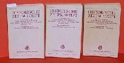 Schieder, Theodor und Lothar Gall (Hrsg.):  Historische Zeitschrift. Band 230 in 3 Teilbänden.