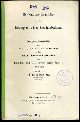 Bensen, Wilhelm:  Beiträge zur Kenntniss von der heteroplastischen Knochenbildung.