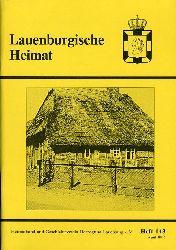 Lauenburgische Heimat. Zeitschrift des Heimatbund und Geschichtsvereins Herzogtum Lauenburg. Neue Folge. Heft 143.