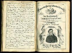 Kliefoth, A. und C. Bröcker:  Organ des Stenographischen Vereins für Mecklenburg und des Norddeutschen Stenographen-Bundes. 8. Jahrgang 1866. Nummer 1 bis 12.