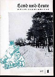 Land und Leute. Kreis Ludwigslust 1957 (nur) Heft 1.