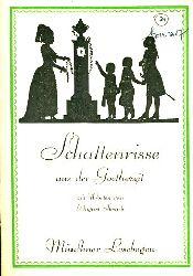 Straub, August:  Schattenrisse aus der Goethezeit. Münchner Lesebogen 77.