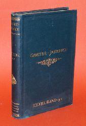 Geiger, Ludwig (Hrsg.):  Goethe-Jahrbuch 33. 1912. Mit dem 26. Jahresbericht der Goethe-Gesellschaft.