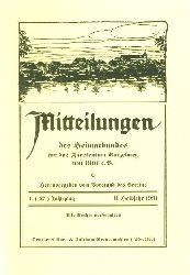 Mitteilungen des Heimatbundes für das Fürstentum Ratzeburg. 1. (27.) Jg. (nur) Heft 2.