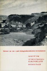Northeim. Südwestliches Harzvorland. Duderstadt. Führer zu frühgeschichtlichen Denkmälern 17.