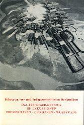 Das Elb-Weser-Dreieck. III. Exkursionen. Bremerhaven. Cuxhaven. Worpswede. Führer zu frühgeschichtlichen Denkmälern 31.