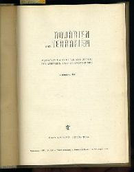 Aquarien und Terrarien. Monatszeitschrift für alle Gebiete der Aquarien- und Terrarienkunde. 5. Jahrgang. 1958.