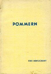 Pommern. Eine Denkschrift.