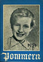 Pommern 1954. Ein Haus- und Jahrbuch.