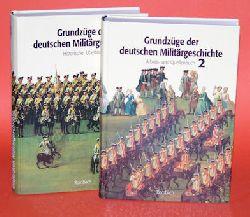 Diefenbach, Karl:  Grundzüge der deutschen Militärgeschichte. Bd. 1. Historischer Überblick und Bd. 2. Arbeits- und Quellenbuch.