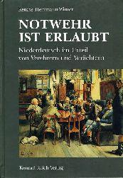 Herrmann-Winter, Renate (Hrsg.):  Notwehr ist erlaubt. Niederdeutsch im Urteil von Verehrern und Verächtern. Texte aus Mecklenburg und Pommern vom 16. bis zum 20. Jahrhundert.