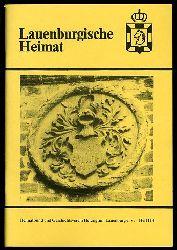 Lauenburgische Heimat. Zeitschrift des Heimatbund und Geschichtsvereins Herzogtum Lauenburg. Neue Folge. Heft 114.