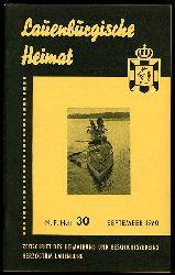 Lauenburgische Heimat. Zeitschrift des Heimatbund und Geschichtsvereins Herzogtum Lauenburg. Neue Folge. Heft 30.
