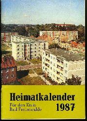 Heimatkalender für den Kreis Bad Freienwalde 31. 1987.