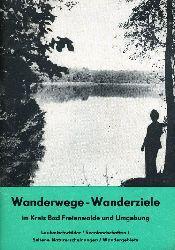 Wanderwege - Wanderziele im Kreis Bad Freienwalde und Umgebung. Laubmischwälder - Seenlandschaften - Seltene Naturerscheinungen - Wandergebiete.