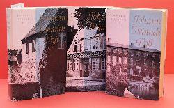 Stoll, Heinrich Alexander:  Johann Heinrich Voss. Roman seines Lebens. 3 Bände. Der Junge aus Penzlin. Der Schulmeister von Ottendorf. Der Löwe von Eutin.