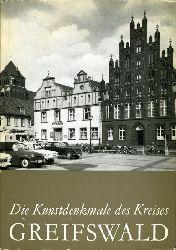 Baier, Gerd, Horst Ende und Renate Krüger:  Die Denkmale des Kreises Greifswald. Die Denkmale im Bezirk Rostock.