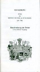 Cordshagen, Christa, Günter Bernhardt und Annelie Kansy:  Beschreibung der Ämter in bearbeiteter Fassung. Mecklenburg-Atlas des Bertram Christian von Hoinckhusen (um 1700)