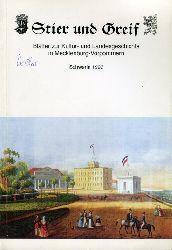 Stier und Greif. Blätter zur Kultur- und Landesgeschichte in Mecklenburg-Vorpommern. 3. Jahrgang 1993.