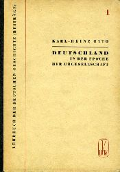 Otto, Karl-Heinz:  Deutschland in der Epoche der Urgesellschaft (500.000 v.u.Z. bis zum 5./6.Jh. u.Z.) Lehrbuch der deutschen Geschichte 1.